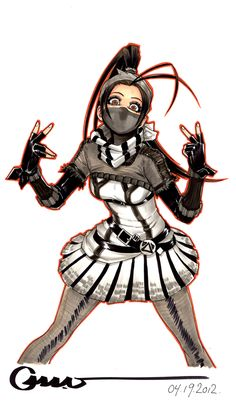 Punk Ibuki 2 by Omar-Dogan.deviantart.com on @deviantART