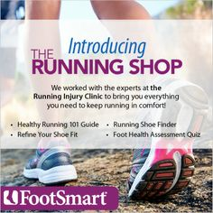 Connecting runners with the information and products you need!  #fitfluential @FootSmart