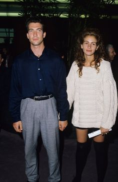 Pin for Later: See Just How Much the American Horror Story Cast Has Changed Dylan McDermott, 1989 The LA premiere of Great Balls of Fire! with a bonus: Julia Roberts!