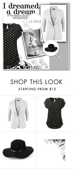 """""""2. Le3noclothing :)"""" by hetkateta ❤ liked on Polyvore featuring LE3NO and le3noclothing"""