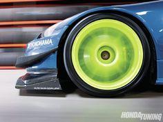 Digging the blue green combo - 2006 Honda S2000 Yokohama Advan Neova via Honda Tuning Magazine