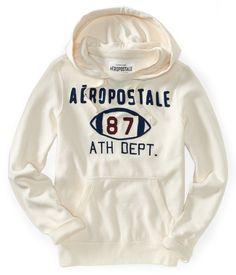 Aero 87 Football Popover Hoodie - Aeropostale