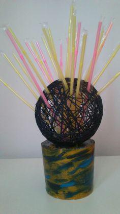 handmade drinking straw case