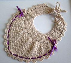Crochet Baby Bib