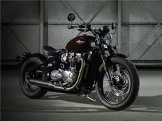 8225268ca6e Bonneville Bobber - uma Triumph Brutalmente Bela