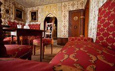 Wohnzimmer in Schloss Lichtenstein auf der Schwäbischen Alb