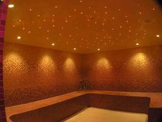 Stretch Ceiling Company in Dubai -Stretched Ceilings in UAE from Imperial Company Bari, Sauna Lights, Color Generator, Fiber Optic Lighting, Star Ceiling, Companies In Dubai, Steam Room, Star Sky, Lighting Solutions