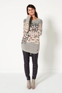 Nordic Light   Fashion   Sweater   Trees   Legging   Purple   Lookbook