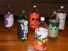monster bowling - kids loved it. Original pin in halloween board