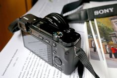 The Sony a6000 mirrorless camera.