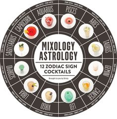 Mixology Astrology: What's your sign? via Drizly Cocktails, Party Drinks, Cocktail Drinks, Alcoholic Drinks, Beverages, Sagittarius Astrology, Zodiac Signs Gemini, Taurus, Astrological Sign