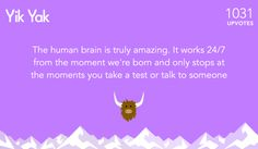 The biology major. | The 26 Most Popular Yik Yak Posts Of 2014