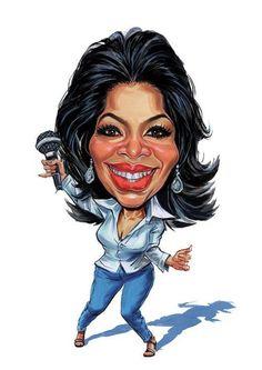Oprah Winfrey - Caricature
