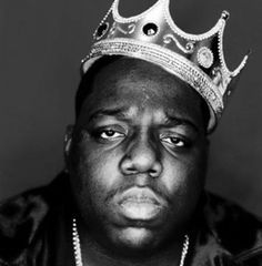 Notorious B.I.G.  Famous East Coast rapper shot to death in a drive-by shooting, possibly as retaliation for earlier killing of Tupac Shakur.  aged 24