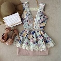 Classy Outfits, Beautiful Outfits, Girl Outfits, Casual Outfits, Cute Outfits, Fashion Outfits, Womens Fashion, Girls Short Dresses, Cute Dresses