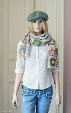 PDF Crochet shawl pattern Crochet scarf pattern Crochet wrap pattern Crochet…