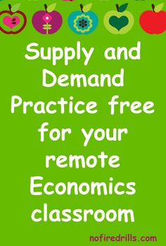 Teaching Economics remotely?  Here's a free drag and drop game for practicing supply and demand! Teaching Economics, Social Studies Classroom, Financial Literacy, Google Classroom, Best Teacher, Classroom Management, Continue Reading, Presentation, This Or That Questions
