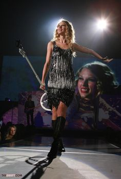 Taylor Swift Fearless Tour.