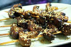 Terapia do Tacho: Espetadas de cogumelos (Mushroom skewers)
