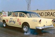 The best vintage cars hot rods and kustoms 1955 Chevy, 1955 Chevrolet, Old Hot Rods, Classic Race Cars, Old Race Cars, Thing 1, Vintage Race Car, Drag Cars, Drag Racing