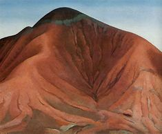 Georgia O'Keeffe, Small Purple Hills