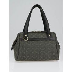 2003 My first Louis Vuitton:  Khaki Monogram Mini Josephine PM Bag.