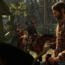 The Last of Us review - Pocket-lint-- Joel, Tommy, and Ellie on horses.