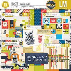 Hoot! bundle by Lynne-Marie