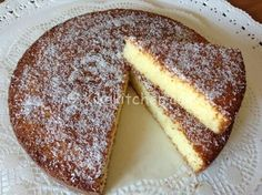 Yoghurt cake with Cook Expert - HQ Recipes My Recipes, Sweet Recipes, Baking Recipes, Italian Cake, Italian Desserts, Italian Cookies, Coconut Flour Recipes, Cocktail Desserts, Torte Cake