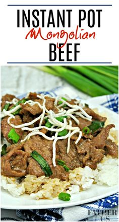 This delicious Instant Pot Mongolian Beef recipe is just the thing when you are craving take-out Chinese food! Much cheaper than PF Changs, this is one of my favorite Pressure Cooker Recipes. It is also a lot more healthy than most carry out dishes. A lot Top Sirloin Recipes, Top Sirloin Steak Recipe, Beef Flank Steak, Flank Steak Recipes, Best Instant Pot Recipe, Instant Pot Dinner Recipes, Mongolian Beef Recipes, Potted Beef Recipe, Pressure Cooking Recipes