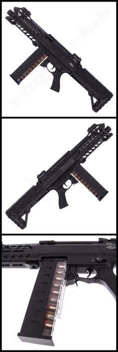 Tokyo Marui SGR12 Tri Shot Shotgun AEG 6mm BB - weitere Informationen und Produkte findet Ihr auf www.shoot-club.de - #shootclub #guns #airsoft #AirSoftGuns