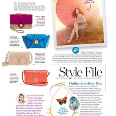 Good housekeeping Middle East featuring our #butterfly charm bracelet  www.gossimarwings.com