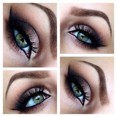 Neutral smokey eye. - I'm losing my skills. Gotta get back on my beauty grind & stop being a lazy!