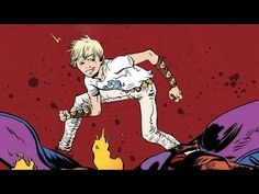 BATTLING BOY by Paul Pope | Book Trailer (Middle-grade graphic novel)