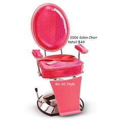 High Quality American Girl Doll Salon Chair