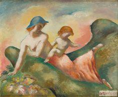 Eugeniusz ZAK ● Kobieta z dzieckiem , około 1925 r.