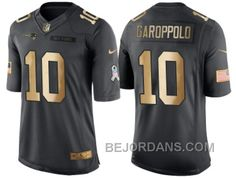 http://www.bejordans.com/free-shipping-60-off-nike-new-england-patriots-10-jimmy-garoppolo-anthracite-2016-christmas-gold-mens-nfl-limited-salute-to-service-jersey.html FREE SHIPPING ! 60% OFF! NIKE NEW ENGLAND PATRIOTS #10 JIMMY GAROPPOLO ANTHRACITE 2016 CHRISTMAS GOLD MEN'S NFL LIMITED SALUTE TO SERVICE JERSEY Only $20.00 , Free Shipping!