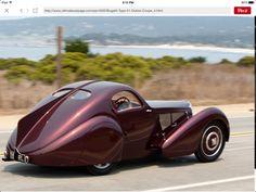 1931 Bugatti Type 51 Dubos Coupe - auto - Car World Vintage Cars, Antique Cars, Antique Trucks, Vintage Decor, Art Deco Car, Auto Retro, Car Photos, Chevrolet Corvette, Hot Cars