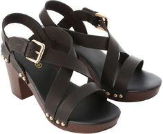 Jane Norman Clog Heeled Sandal