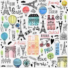 Margaret Berg Art: Paris+Je+T'aime