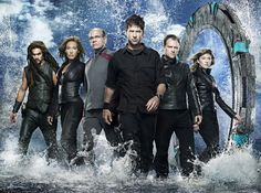 Stargate Atlantis - Personagens