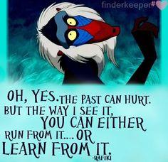 Rafiki (The Lion King) quote