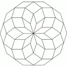 Mandala (Büyülü Çember) Boyama