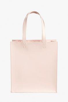 Monki Large tote bag in Orange Reddish Light