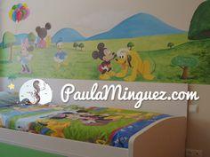 Todo lo que necesitas saber sobre murales infantiles con personajes de cuentos y Disney. Me llamo Paula Mínguez y puedo personalizar tu hogar. #hadas #duendes #ilustraciones #habitacioninfantil #mural