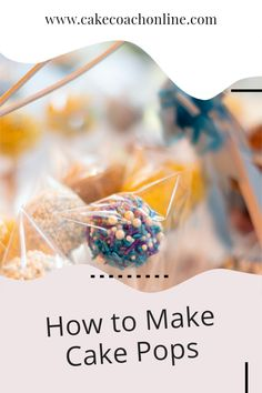 How to make cake pops with cake - is a really useful way to use up left over cake scraps (if there is such a thing). Follow our tips and hints on our blog to find out more...
