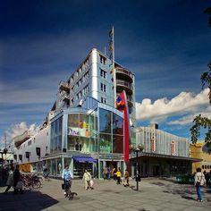 """Shopping i Luleå 1955. Världens första """"shopping mall"""""""