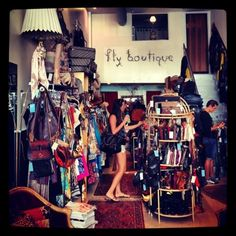 The Fly Boutique is THE COOLEST resale shop I've ever been too!  And they just launched their first online store on Etsy