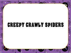 O For Tuna Orff: Creepy Crawly Spiders Song (ta ti-ti rest)