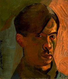 Frantisek Tichy : Self-portrait / 1928 / oil on canvas / 34 x cm Czech Rep. Circus Performers, Galerie D'art, Oil On Canvas, Painters, Portraits, Artist, Painting Art, Selfies, Painted Canvas